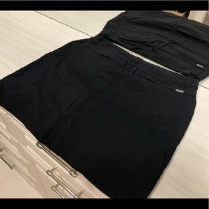Eddie Bauer Black Athletic Skirt
